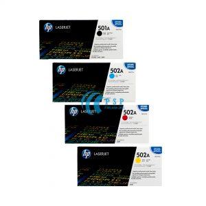 کارتریج تونر رنگی HP-501A-HP-502A