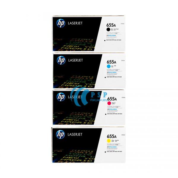 کارتریج تونر رنگی HP-655A